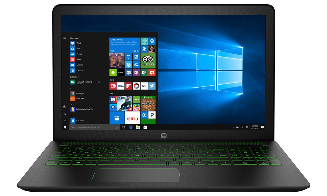 HP Pavilion Power karta graficzna NVIDIA GeForce GTX1050