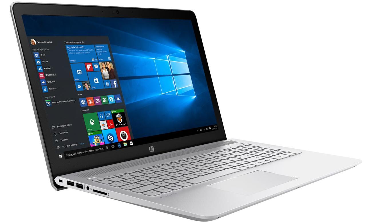 Laptop HP Pavilion 15 cienki mieści sie wszędzie nowoczesny wyglą