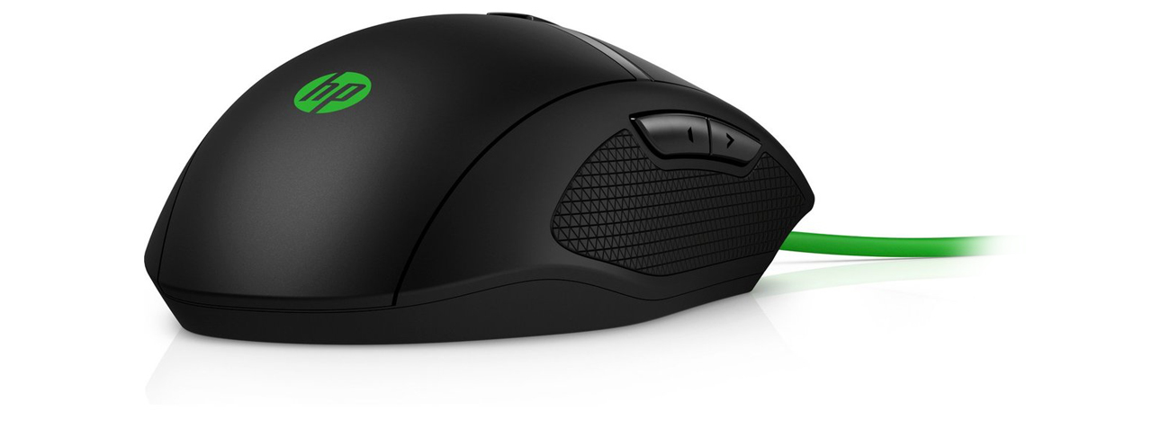 Die Maus mit LED Beleuchtung HP Pavilion 300 Gaming USB
