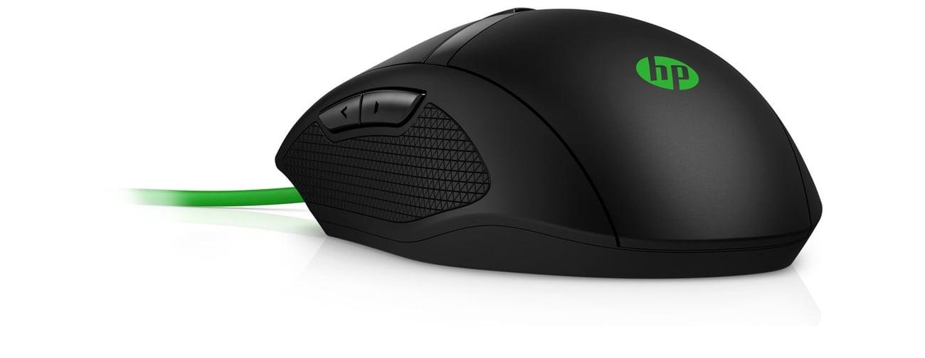 Die Maus mit 8 Tasten HP Pavilion 300 Gaming USB