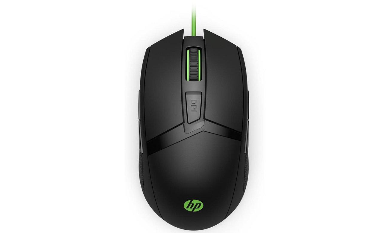 Die Maus für Rechts und Linkshänder HP Pavilion 300 Gaming USB