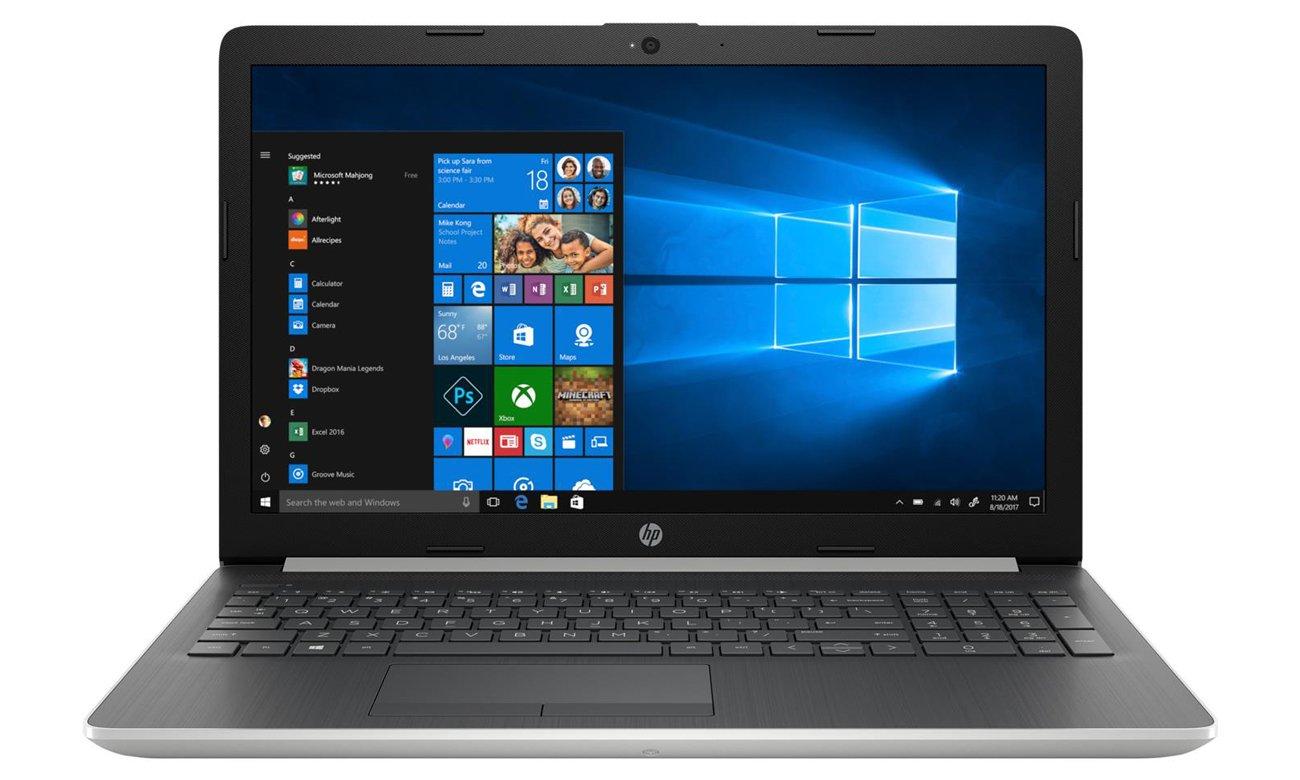 Intel UHD Graphics w HP 15