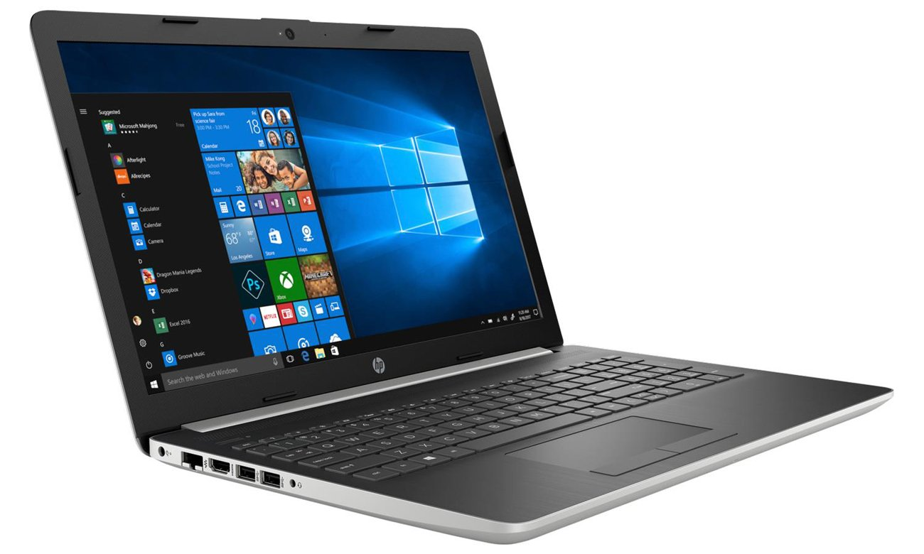 Elegancki laptop uniwersalny HP 15