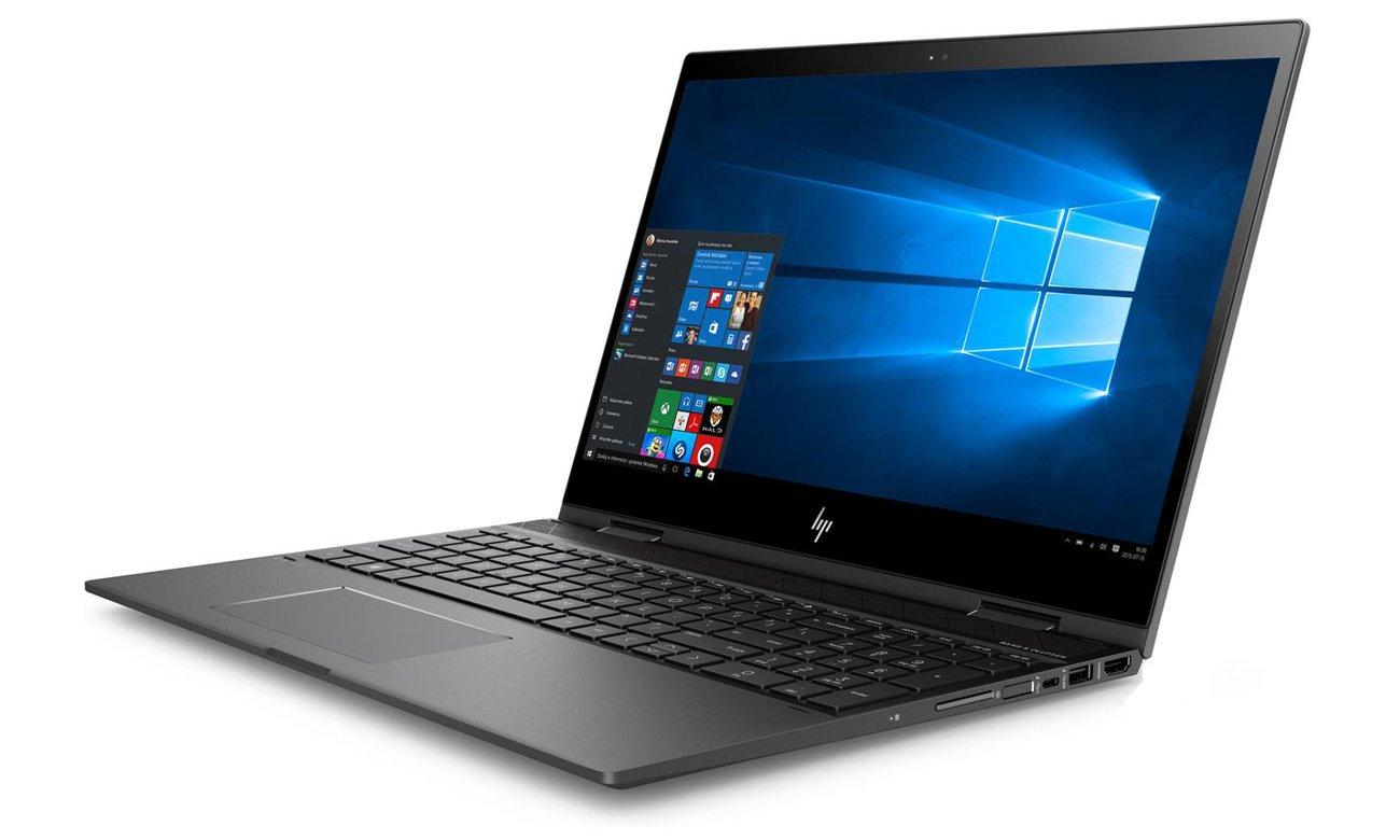 HP ENVY x360 podświetlana klawiatura numeryczna