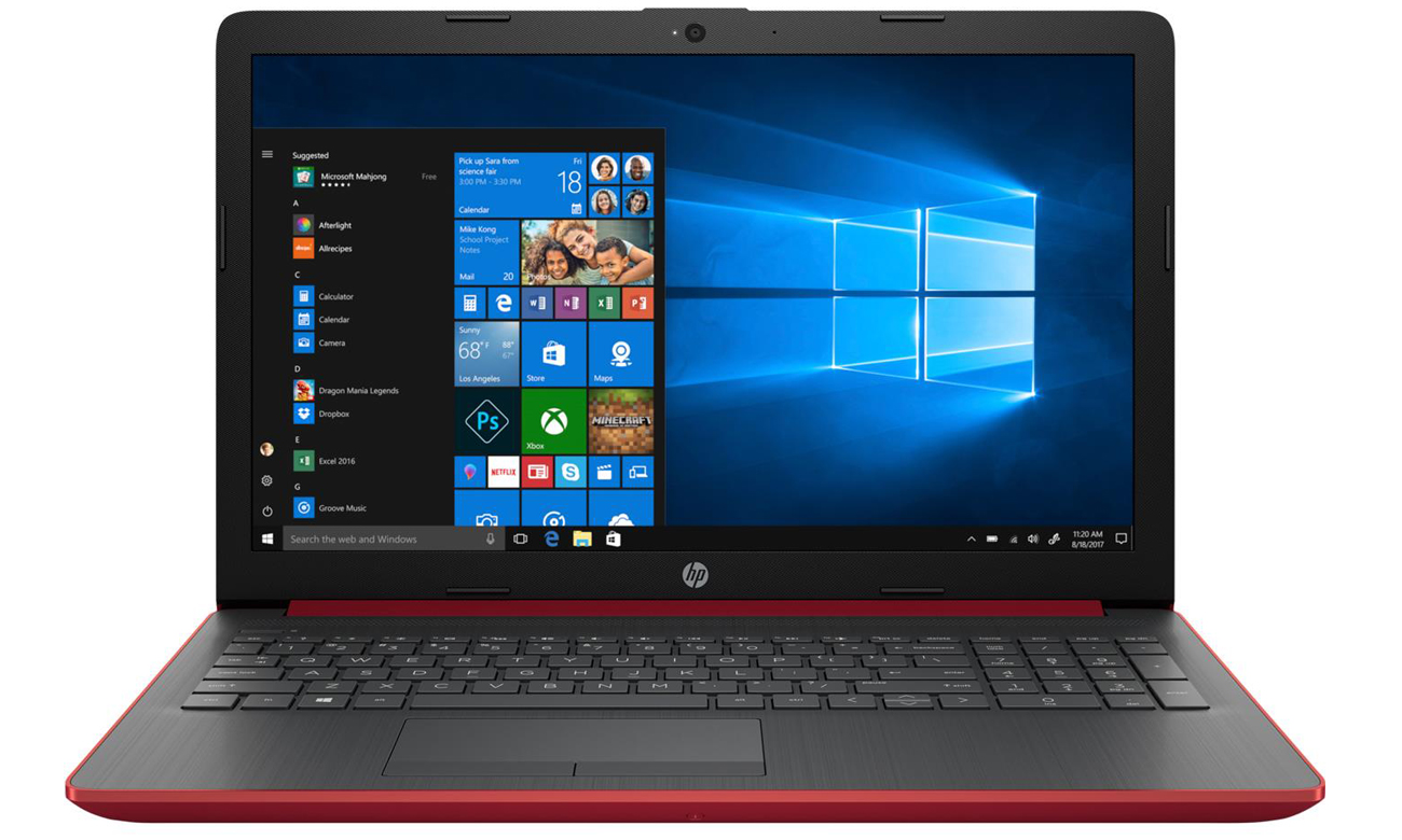 Laptop HP 15 układ graficzny UHD graphics