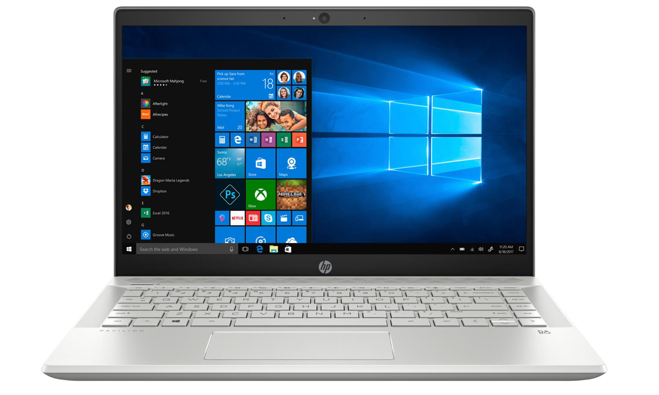 GeForce MX150 w Laptopie HP Pavilion 14