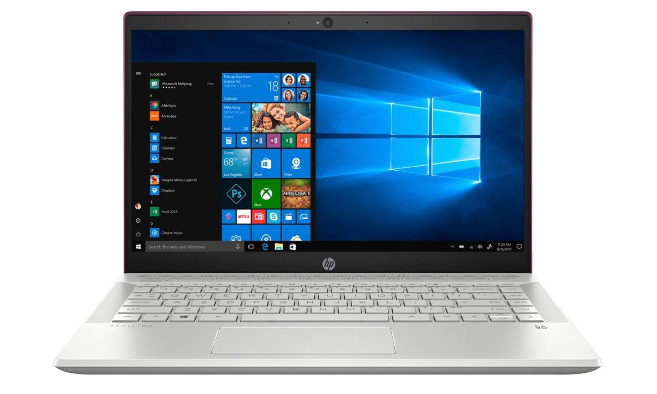 Układ graficzny Intel UHD Graphics w Laptopie HP Pavilion 14