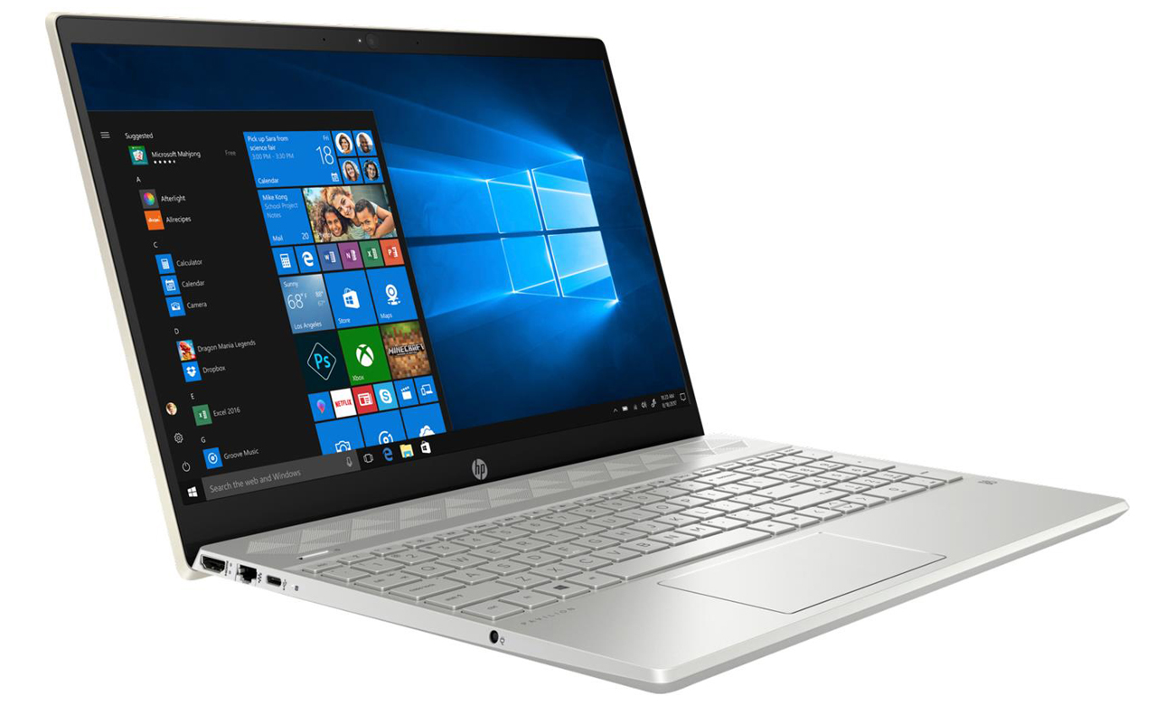 Procesor Intel Core i5 ósmej generacji laptop HP Pavilion 15
