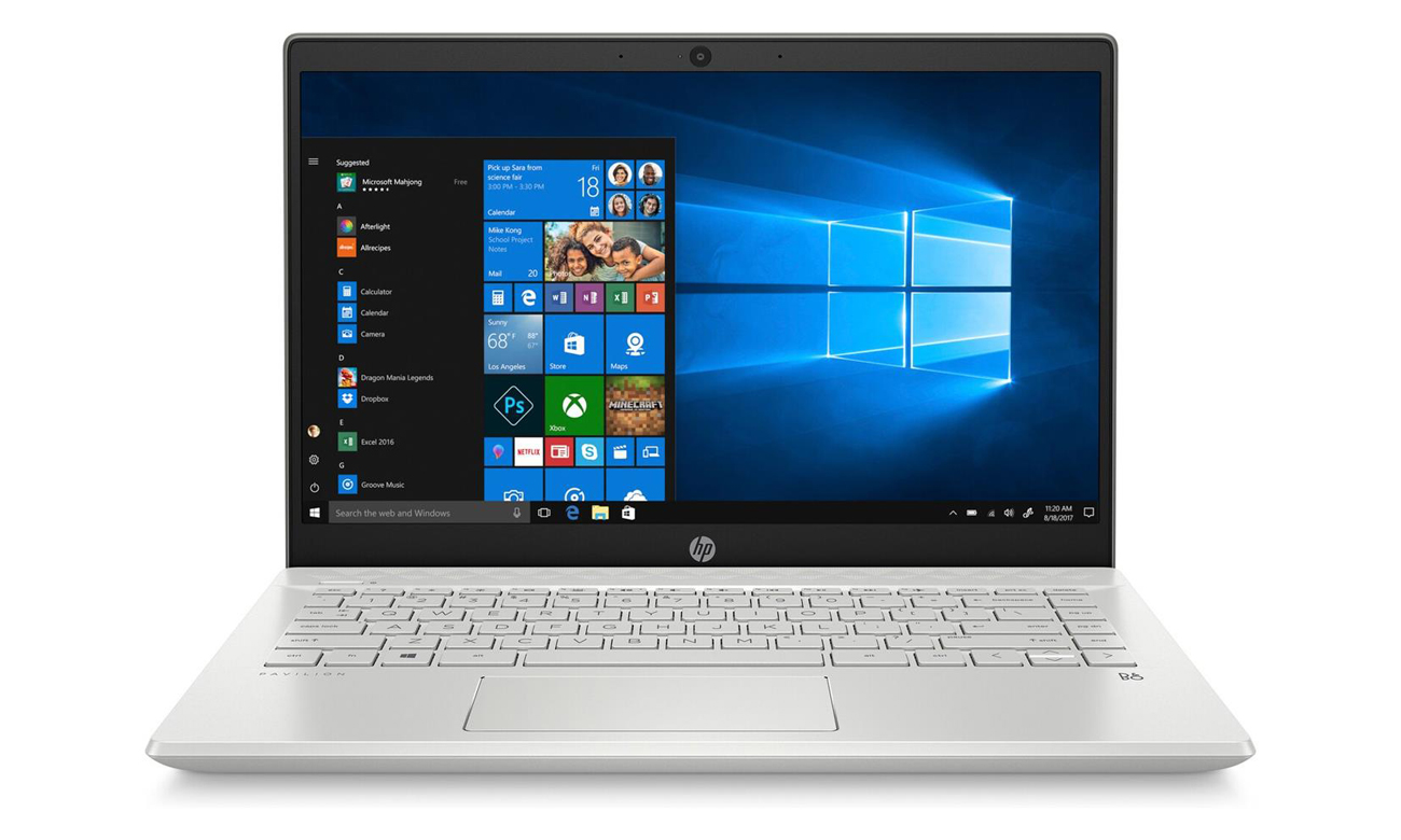 GeForce MX250 w Laptopie HP Pavilion 14