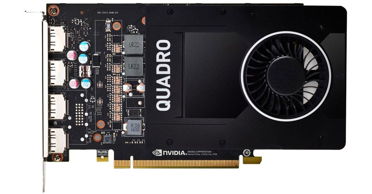 Karta graficzna NVIDIA HP Quadro P2200 5GB GDDR5X 6YT67AA