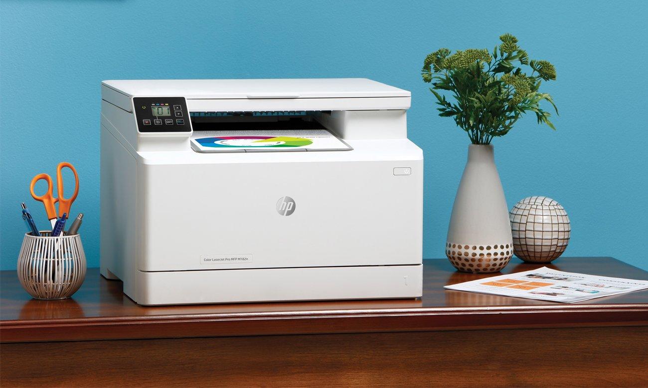 Urządzenie wielofunkcyjne do domu i biura HP Color LaserJet Pro MFP M182n