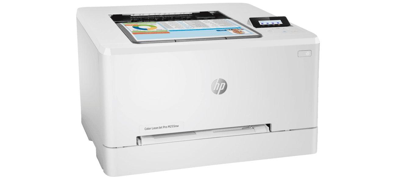 Drukarka do domu i małego biura HP Color LaserJet Pro M255nw