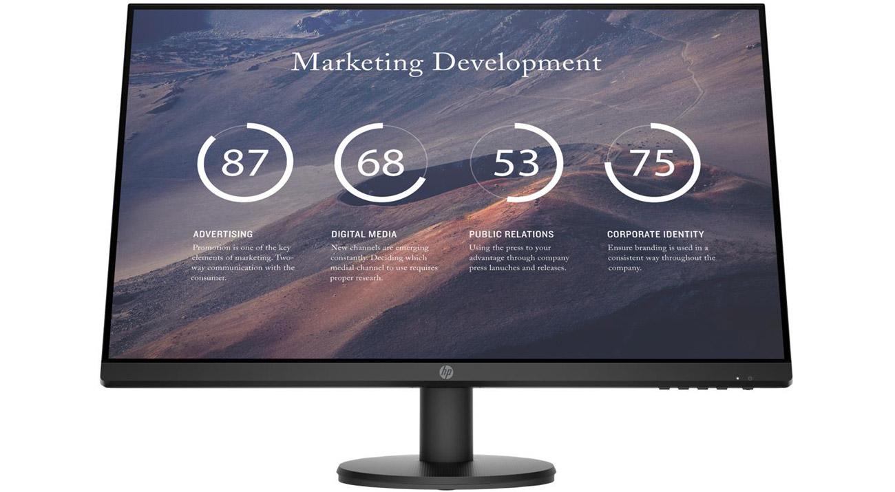 Idealny do domu i biura monitor HP P27v G4