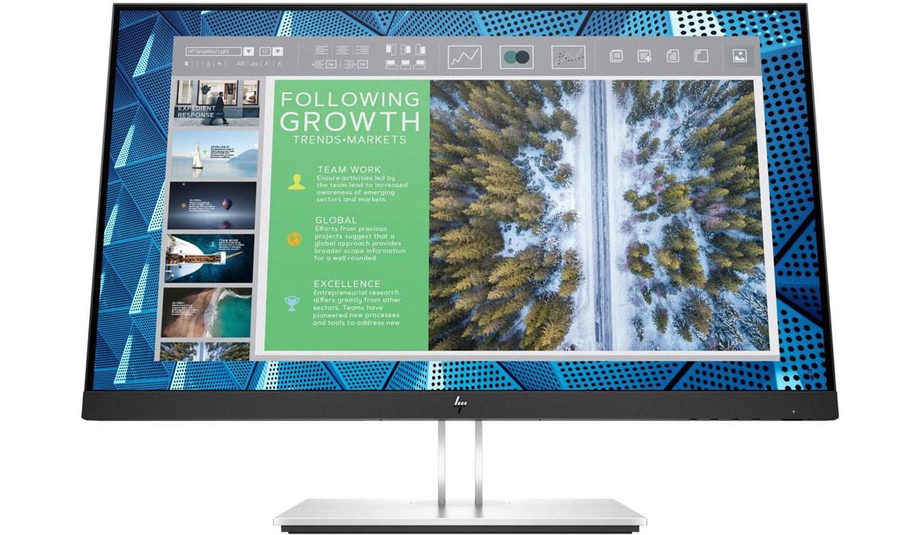 Monitor do domu i biura HP E24q G4