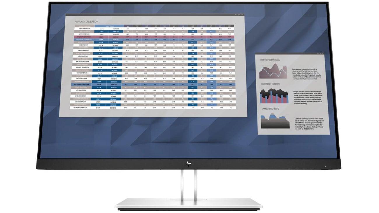 Monitor do domu i do biura HP E27 G4
