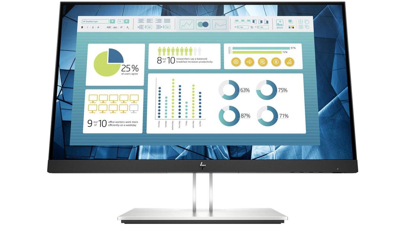 Monitor do domu i do biura HP E22 G4