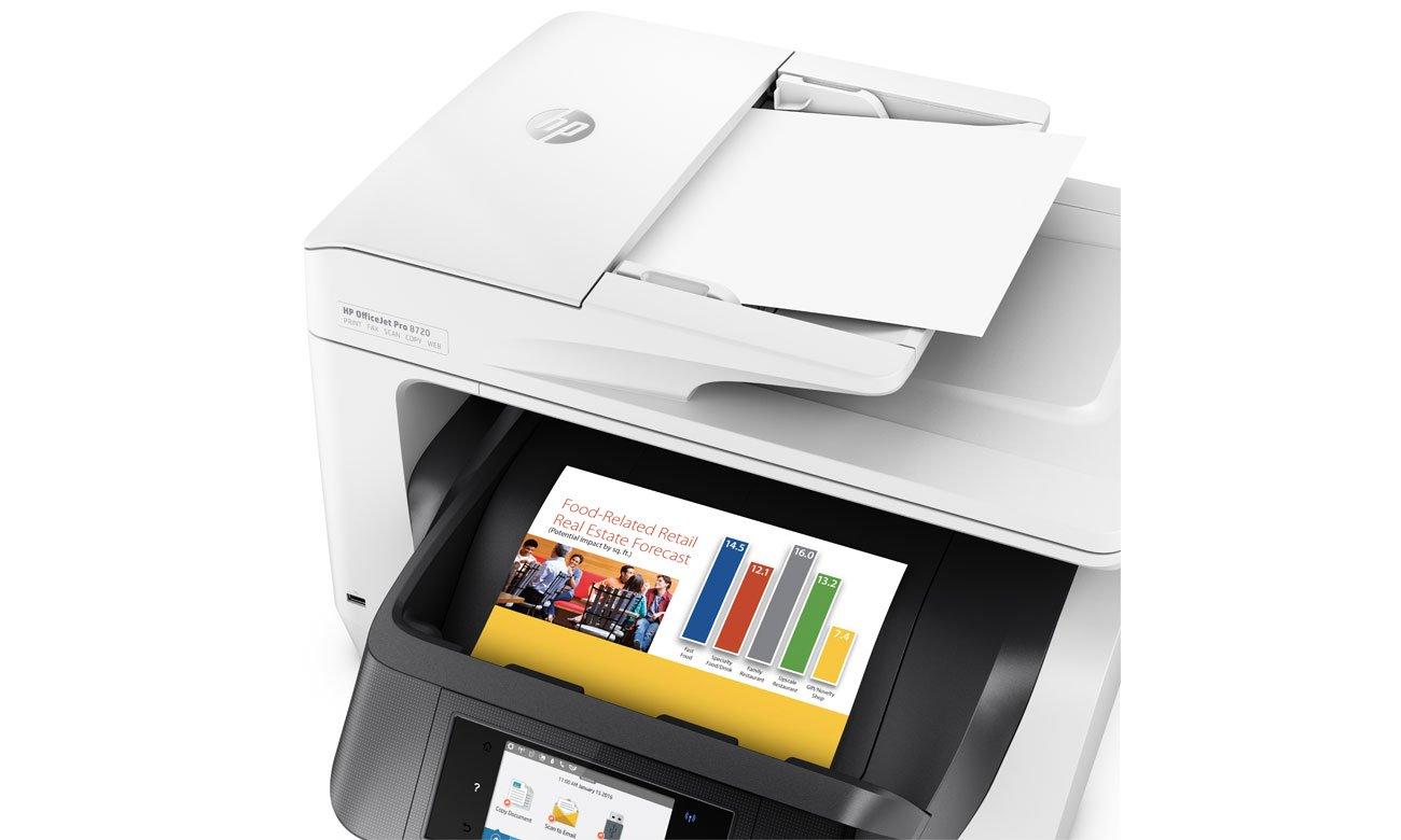 Urządzenie wielofunkcyjne HP OfficeJet Pro 8720