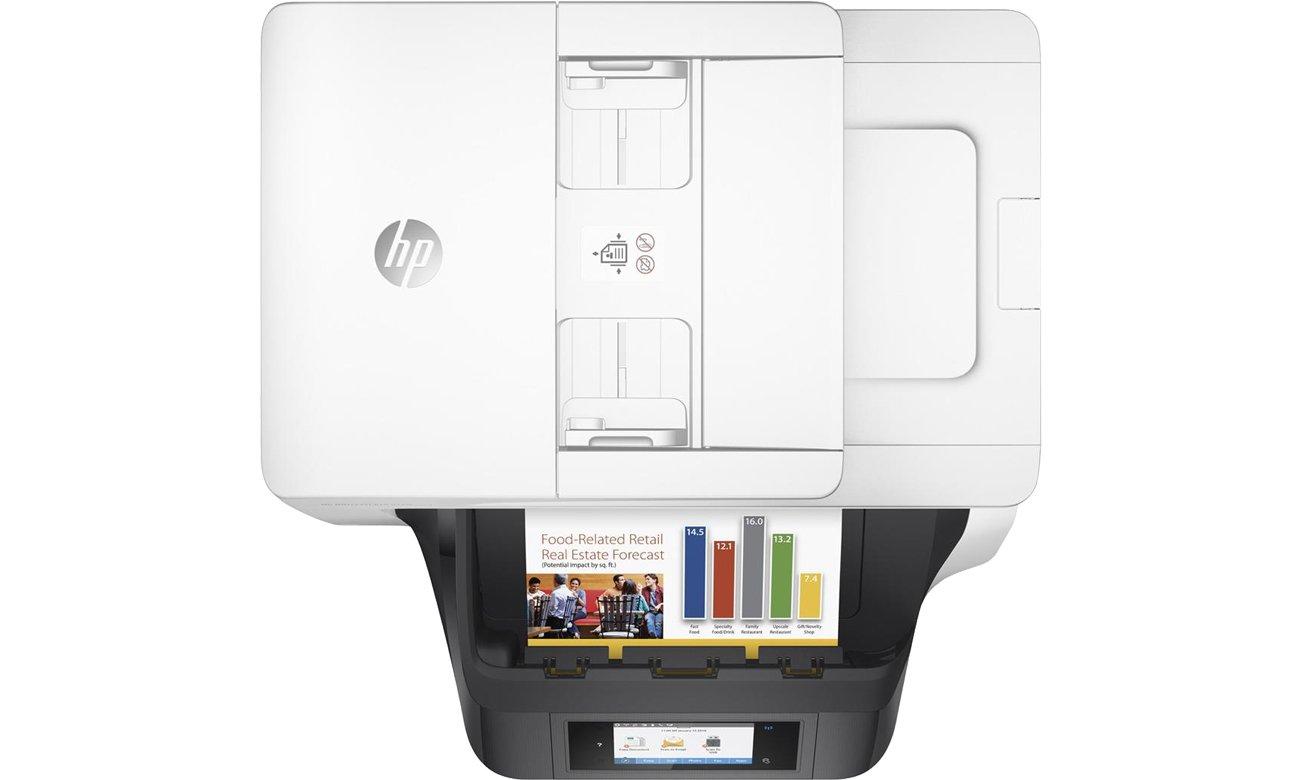 HP OfficeJet Pro 8720 widok z góry