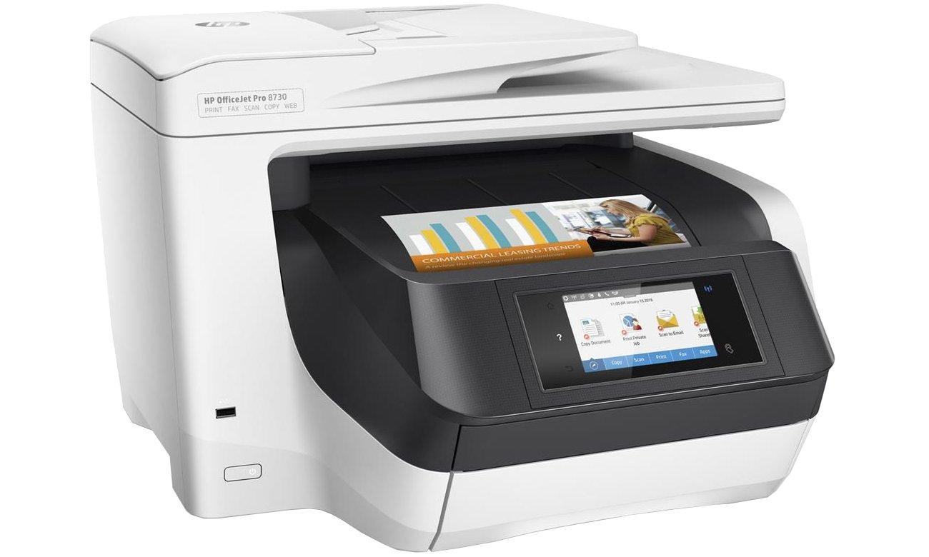 Urządzenie wielofunkcyjne HP OfficeJet Pro 8730 D9L20A