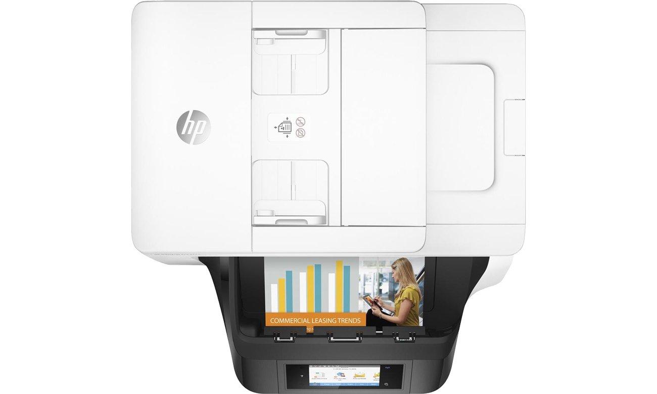 HP OfficeJet Pro 8730 widok z góry