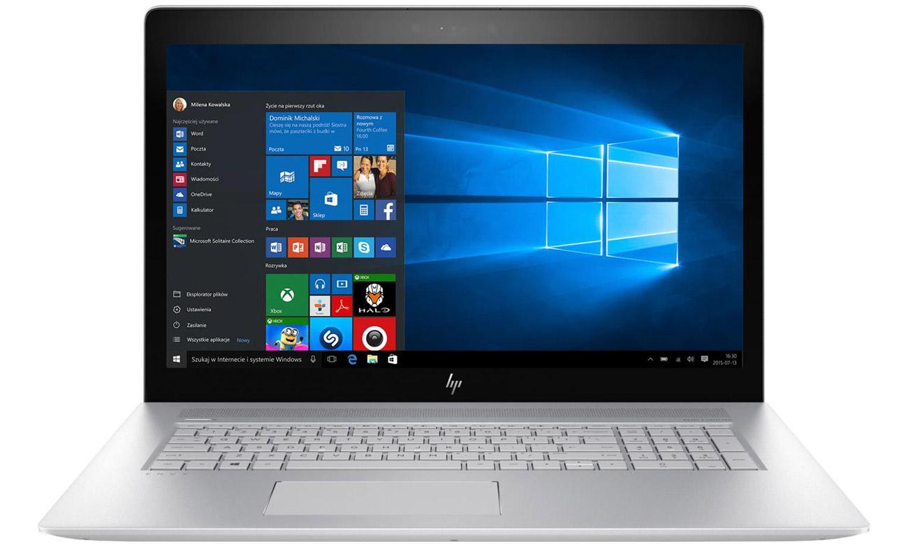 HP Envy 17 z kartą graficzną Nvidia geforce 940MX