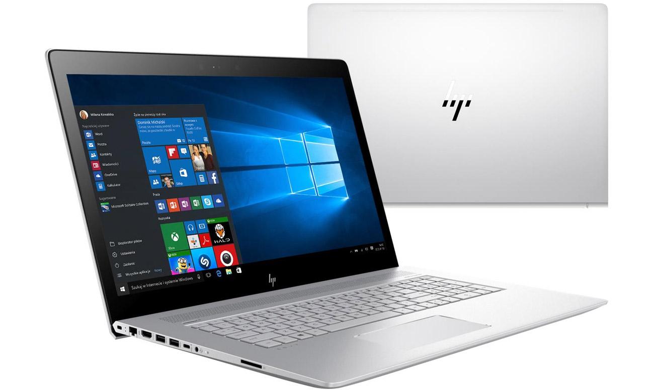 HP Envy 17 z procesorem intel core i5 siódmej generacji