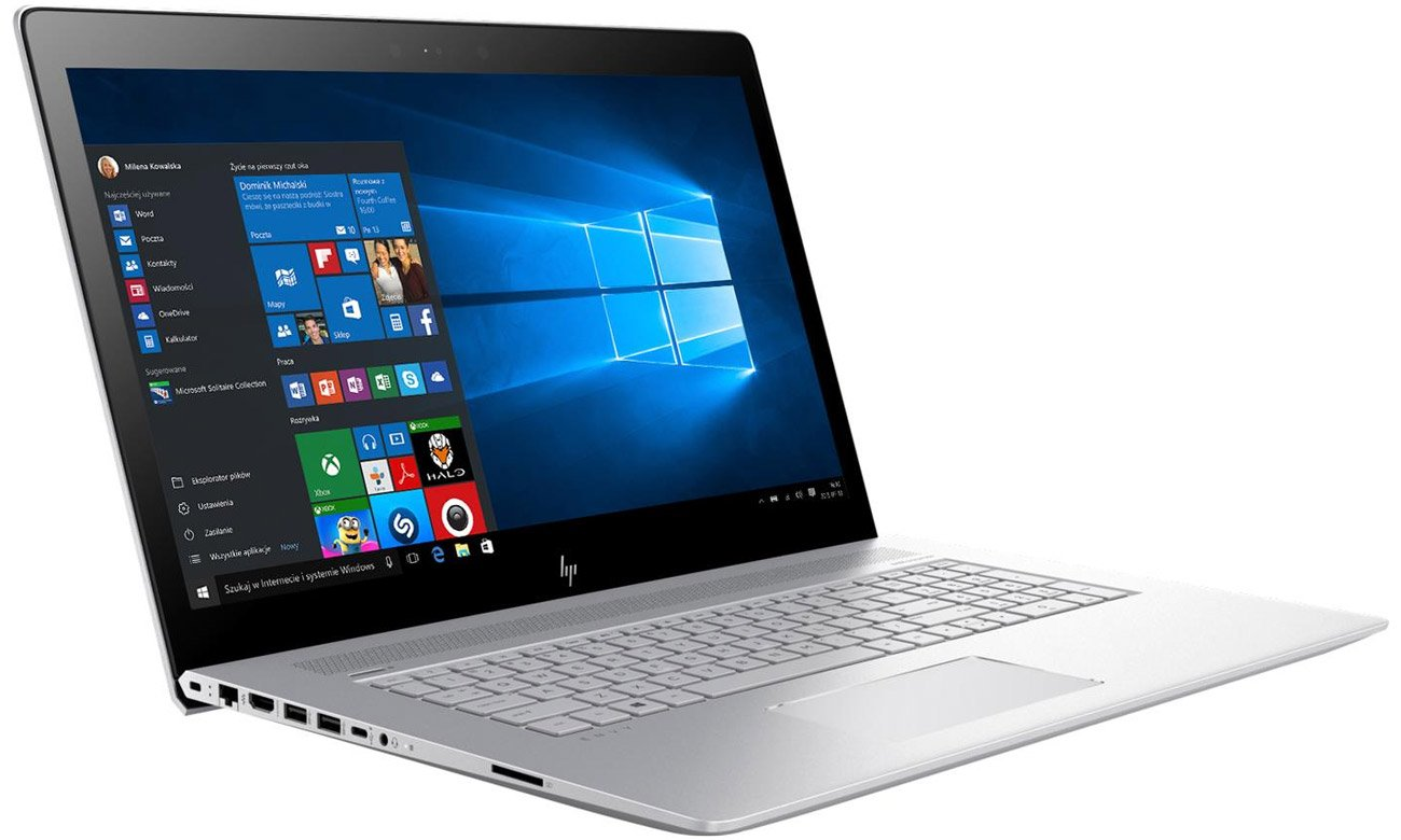 HP Envy 17 kamera hp wide