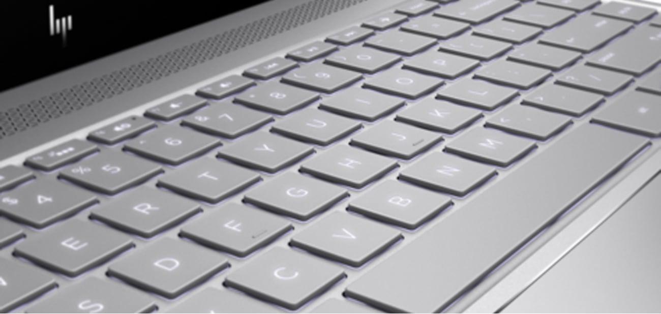 HP Envy 13 podświetlana klawiatura