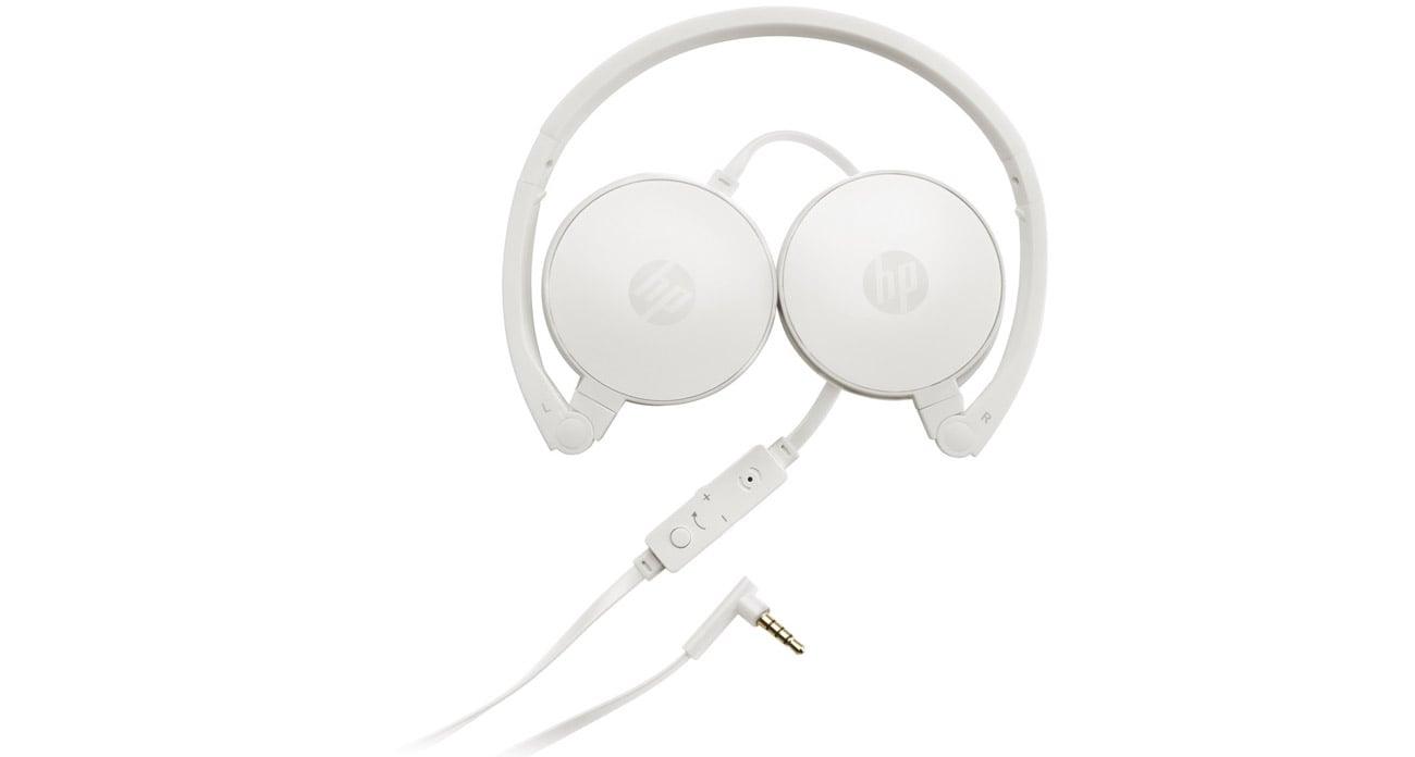 Słuchawki przewodowe HP H2800 komfort słuchania