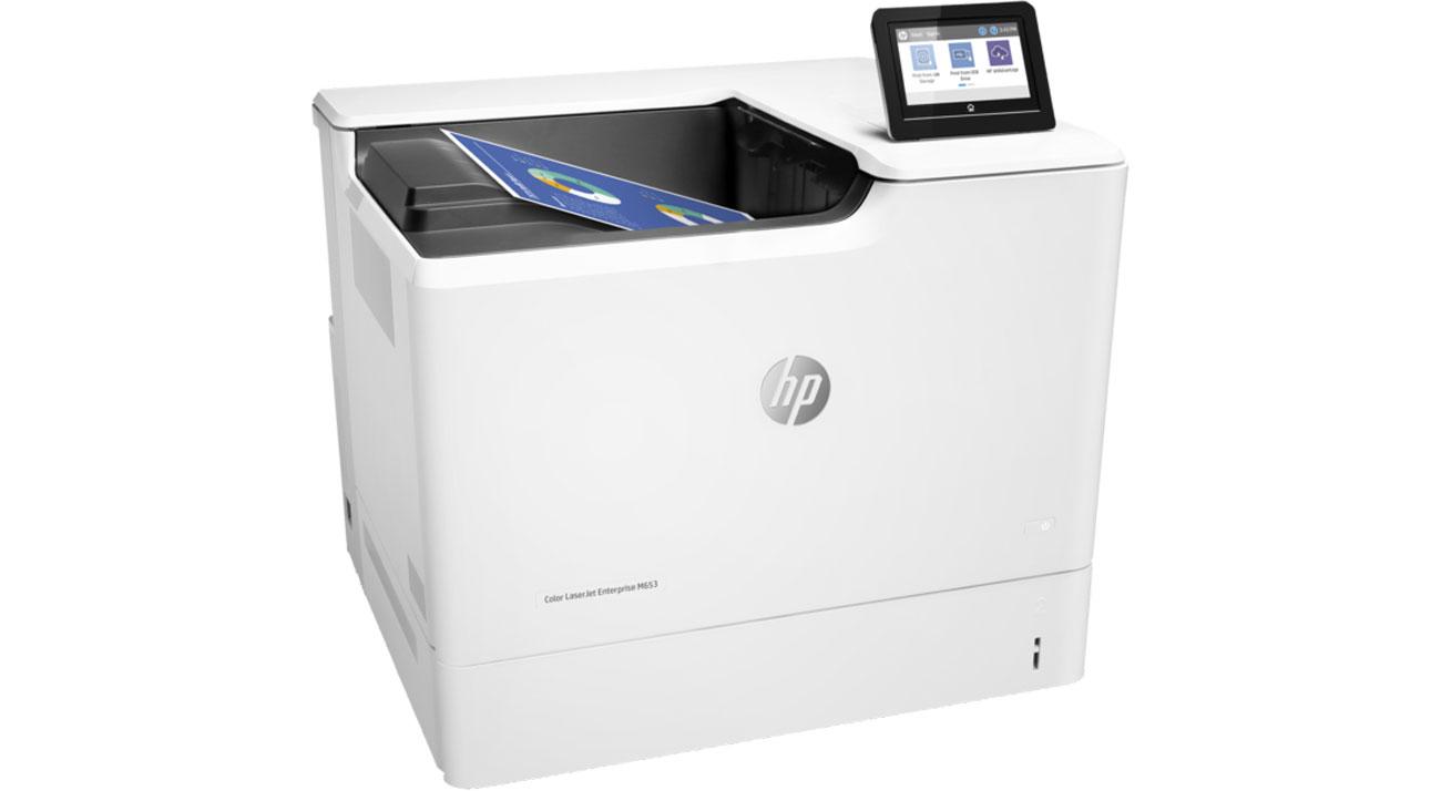 Drukarka do biura i korporacji HP Color LaserJet Enterprise M653dn