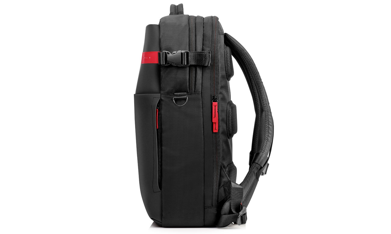 HP Omen Gaming Backpack K5Q03AA wnętrze