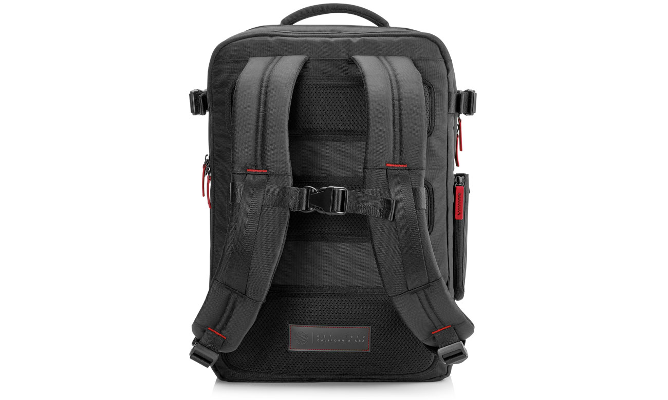 HP Omen Gaming Backpack K5Q03AA z zewnątrz