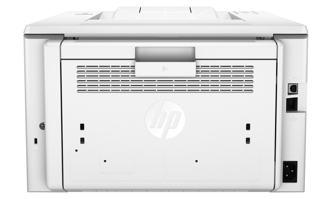 HP LaserJet Pro M203dn widok z tyłu