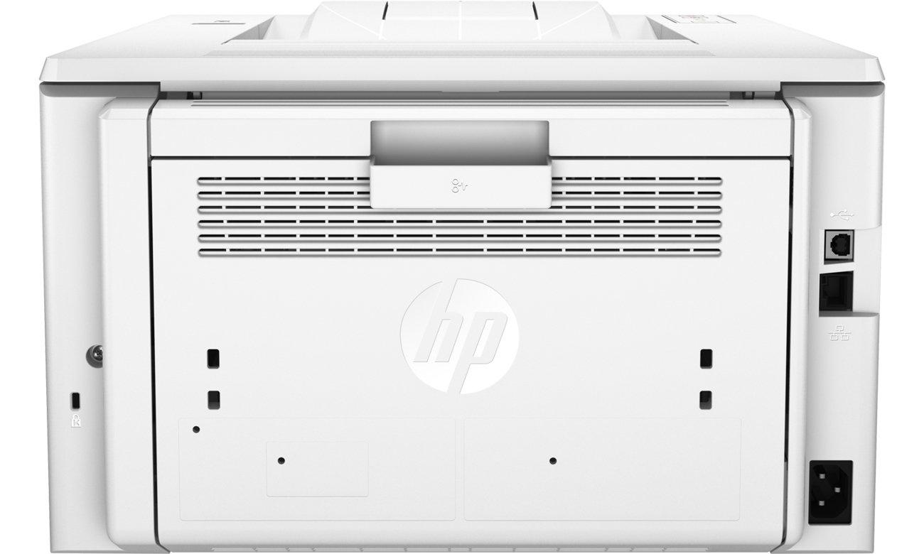 HP LaserJet Pro M203dw widok z tyłu