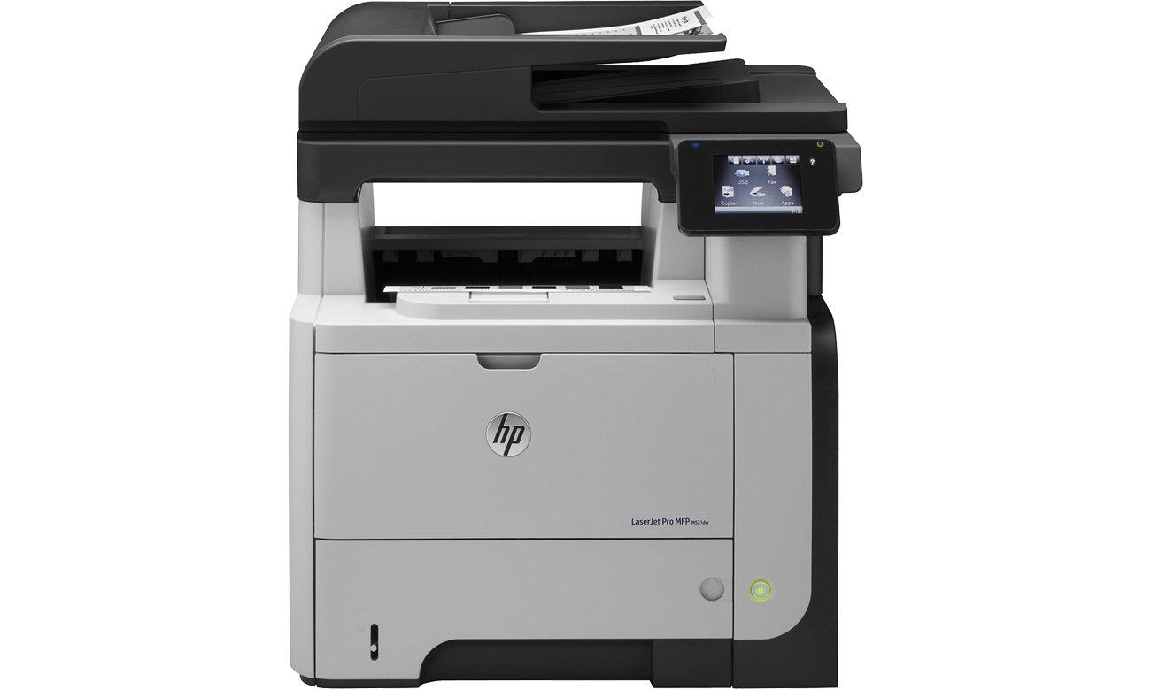 HP LaserJet Pro 500 M521dw widok z przodu