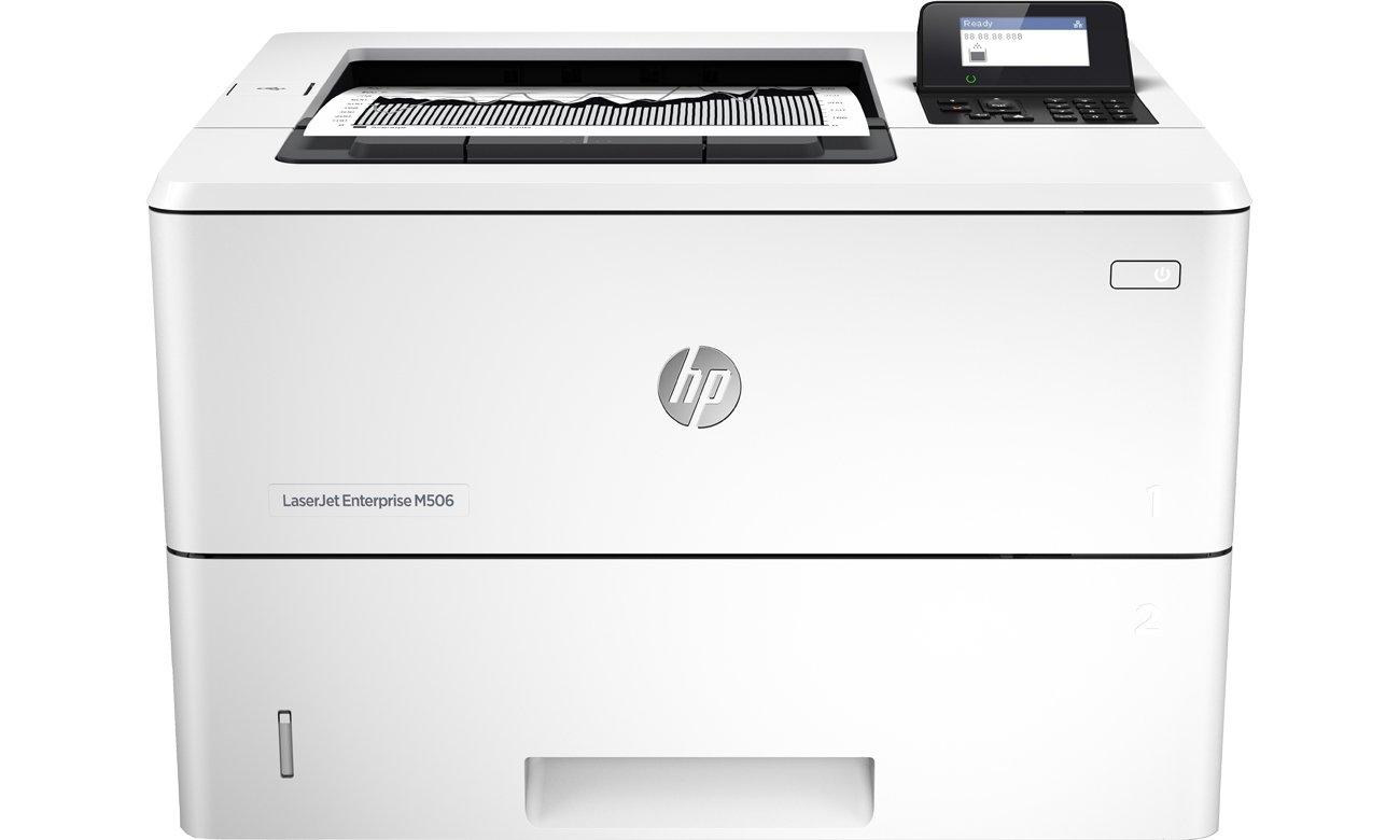 HP LaserJet Enterprise M506dn, вид спереди