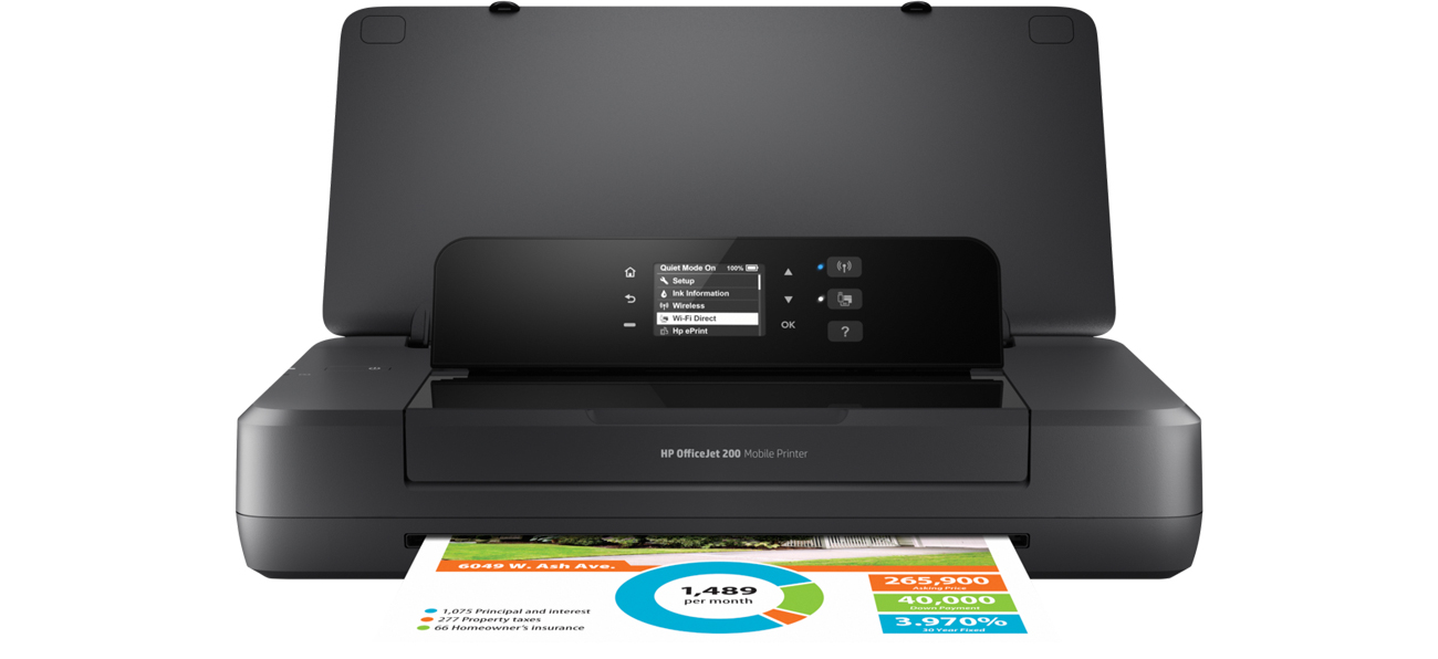 HP OfficeJet 202 Bateria