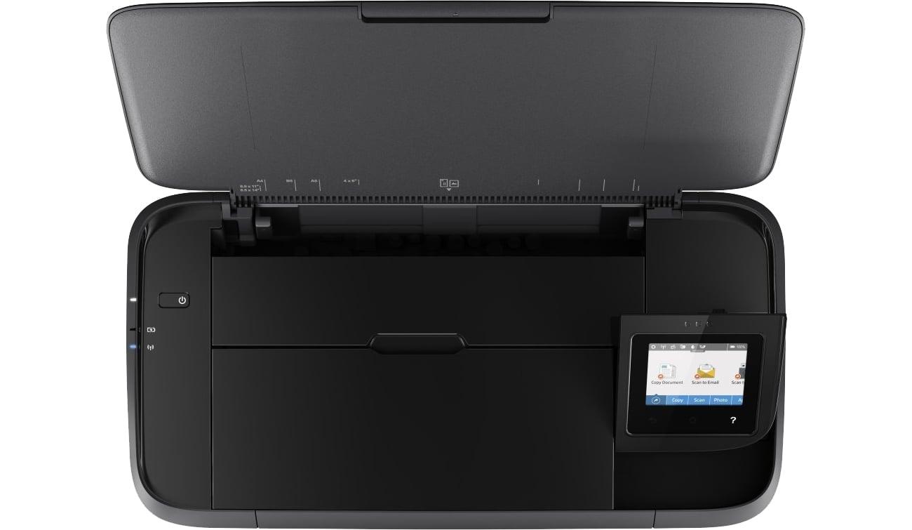 HP OfficeJet 252 widok z góry