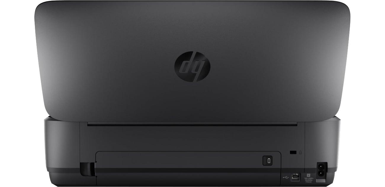 HP OfficeJet 252 widok z tyłu