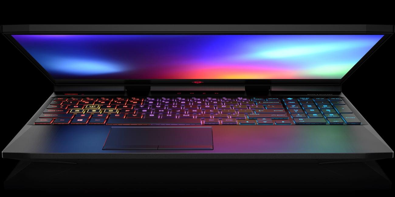 HP Omen 15 4-strefowo podświetlana klawiatura z NKRO
