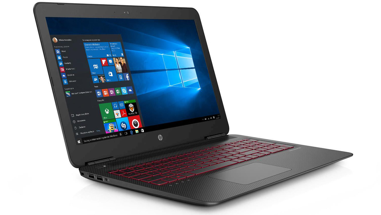 HP OMEN Procesor Intel Core i5 szóstej generacji