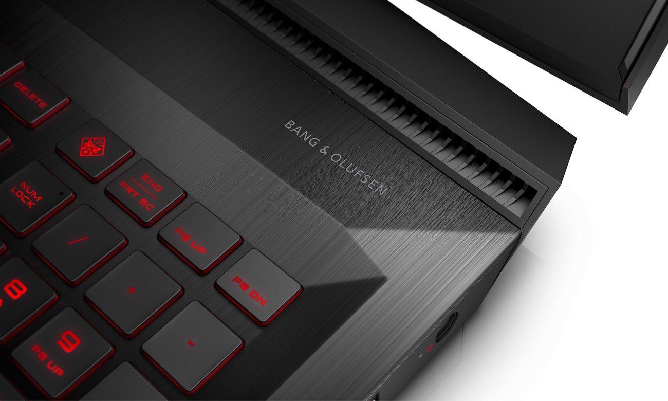 HP OMEN wysokiej jakości audio