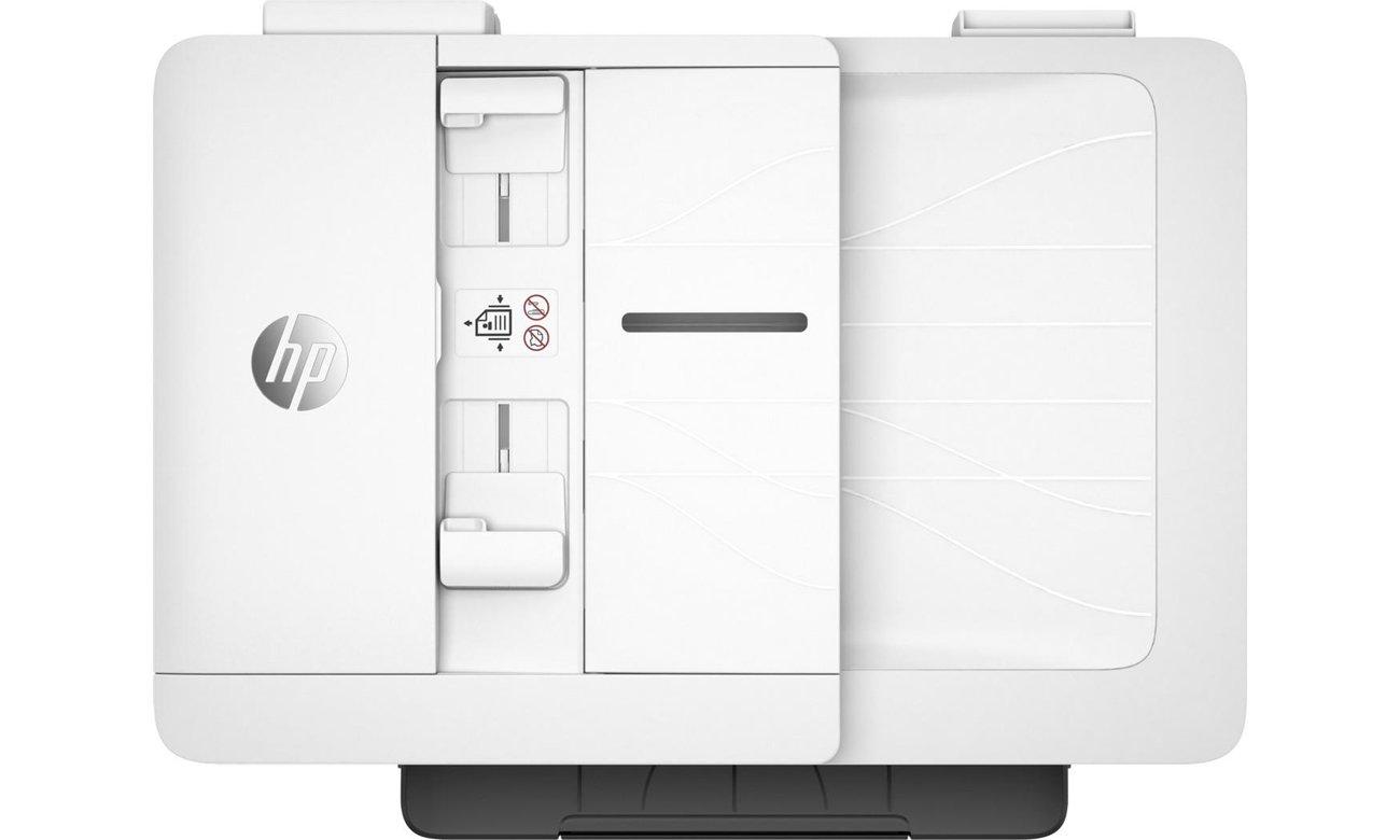 HP OfficeJet Pro 7740 widok z góry