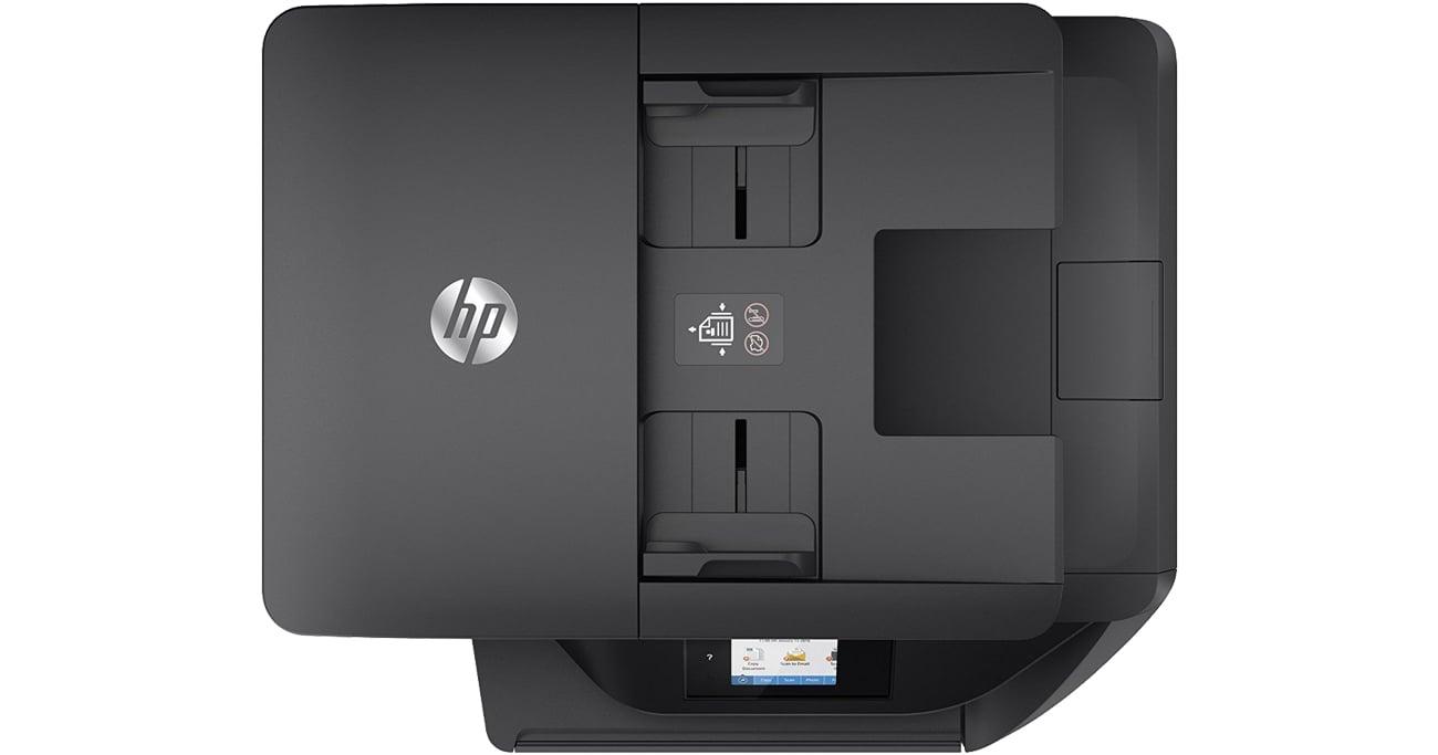 HP OfficeJet Pro 6960 widok od góry