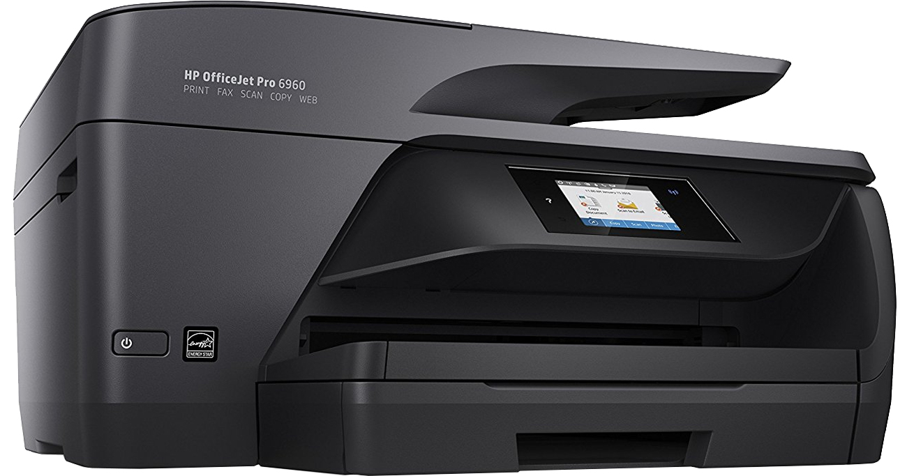 HP OfficeJet Pro 6960 widok z boku