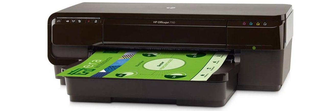 drukowanie z HP OfficeJet Pro 7110