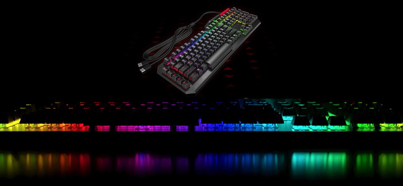 HP OMEN Sequencer Podświetlenie 16.8 milliona kolorów