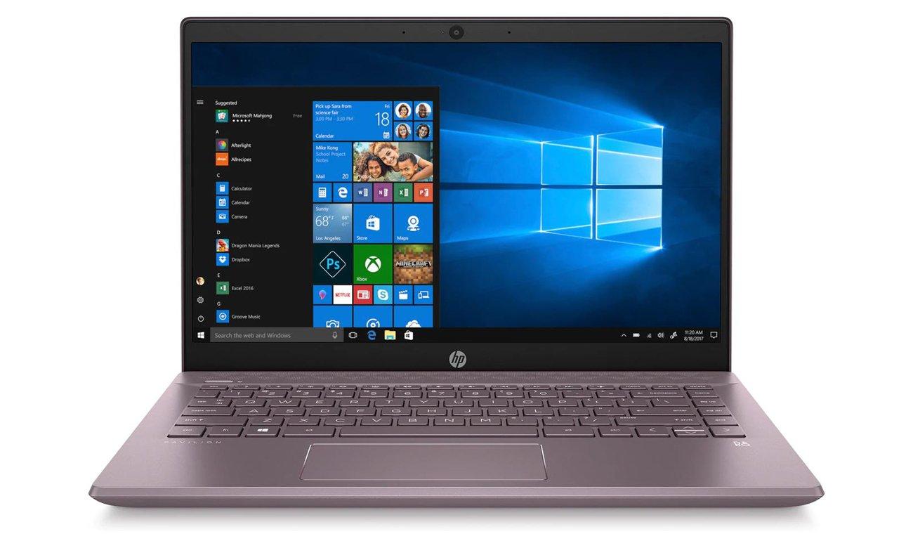 GeForce MX250 w Laptopie HP Pavilion 14