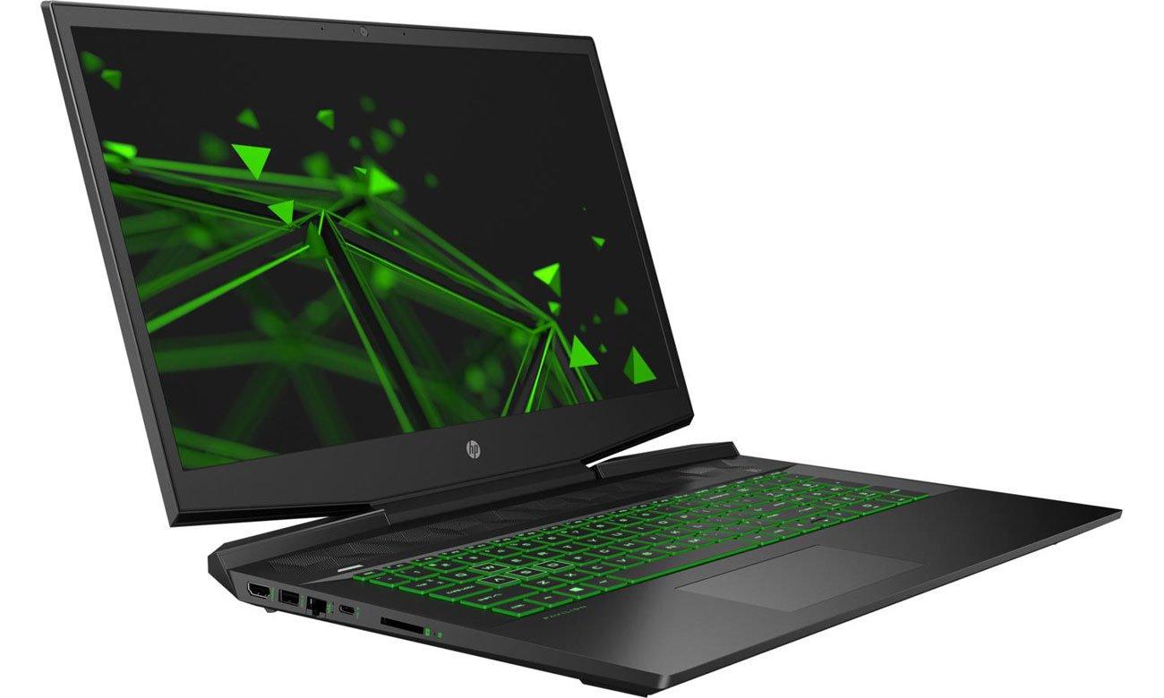 HP Pavilion Gaming 17 ekran i klawiatura