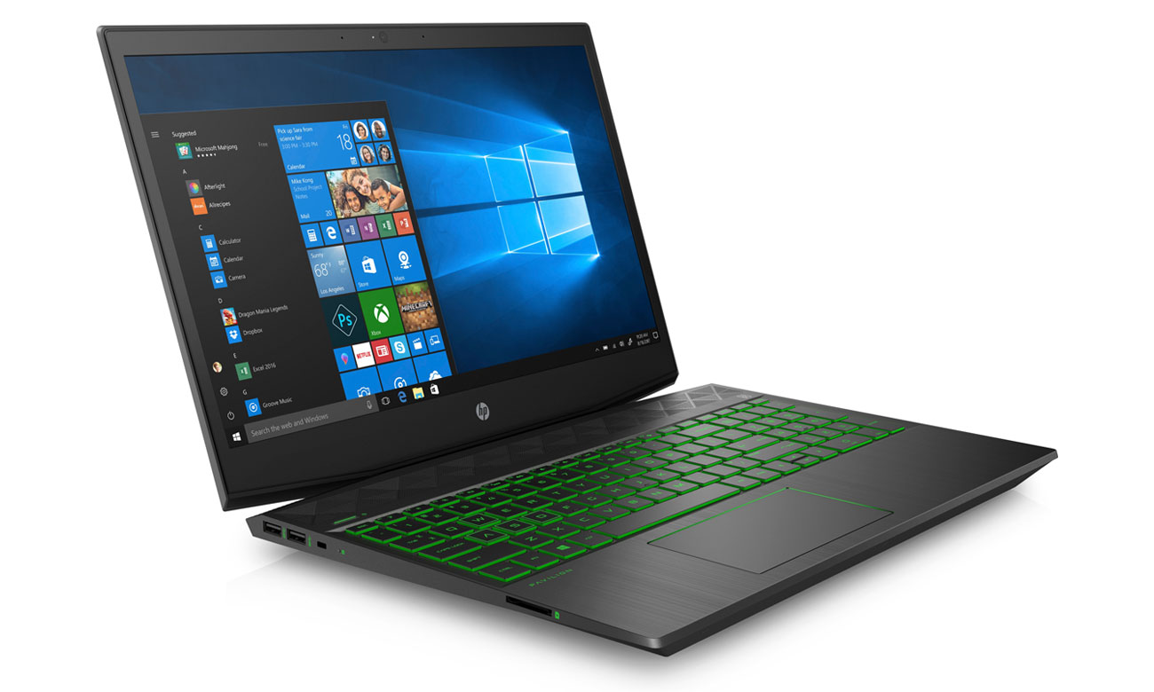 HP Gaming Pavilion 15 Perfekcyjny gaming z GeForce GTX 1050Ti